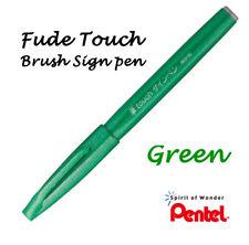 Pentel Fude (Flexible tip) Touch sign brush pen: Green