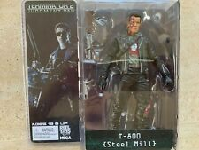 """Terminator Neca 2 Judgment Day T-800 Ultimate Deluxe Arnold 7"""" Action Figure Toy"""
