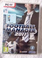 35202 - Football Manager 2011 [NEW / SEALED / SPANISH] - PC (2010) Windows 7