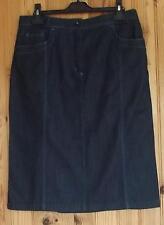 Jupe chic bleu jean de marque « bleu de sym » taille F 40