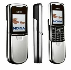 Nokia 8800 - Worldwide unlock with original box and full accessorize (3 colors)