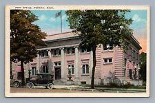 PONTIAC MICHIGAN OAKLAND COUNTY, CLINTON RIVER 1910 POST OFFICE, Era Autos,1900s