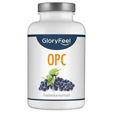 OPC Traubenkernextrakt 360 Kapseln Vitamin C Traubenkern Vegan Hochdosiert