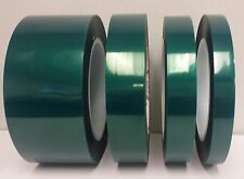 "1 Roll of 1/2"" x 72 Yds High Temp Polyester Powder Coating Tape - No Shrinkage"