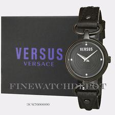 Authentic Versus by Versace Black Crystal Watch 3C67600000