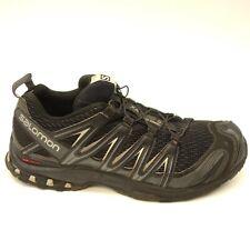 Salomon Mens XA Pro 3D WP Blk Hiking Mountain Running Shoes US 10.5 EU 44.33