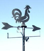 Gallo galletto segnavento in ferro banderuola cardinali grande 70 x 70
