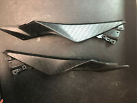 13-17 2013 Kawasaki Ninja 300 Side Dash Cowl Plastic Panel Tank Fairing *