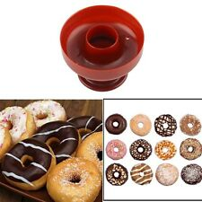 Mold Sugarcraft Mould Donut Maker Craft 3D Plastic Fondant Cake Cutter
