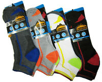 Mens Trainer Liner Ankle Socks ProHike Funky Designs Adults Sports 3 6 12 Packs