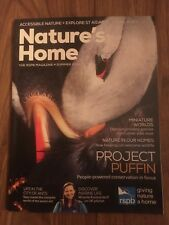 NATURE'S HOME Magazine - Summer 2018 - RSPB - Very Good Condition