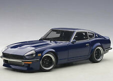 Autoart Nissan Fairlady Wangan Midnight Devil Z 1:18 Model Car Blue 77451