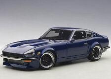 Autoart Nissan Fairlady Wangan Midnight Devil Z 1:18 Model Car Blue 77451