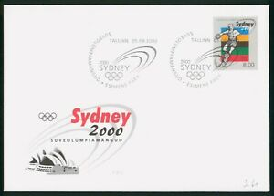MayfairStamps Estonia Sydney Opera House 2000 Cover wwp61359