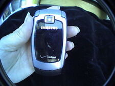flip cell phone untested for parts or repair model sch-u640