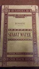 Rossini: Stabat Mater: Vocal Music Score