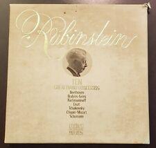 Rubinstein - Ten Great Piano Concertos 1974 RCA CRL7-0725 7LP Box Set EX
