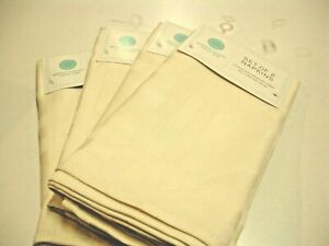 "NEW - Martha Stewart Collection Napkins Spill Proof, Beige (Set Of 2) 19"" X 19"""