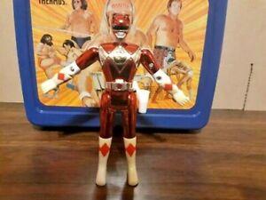Power Rangers Movie Edition Metallic Red Ranger Action Figure Bandai 1995