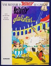 Asterix Gladiateur, Texte de Goscinny, Dargaud Editeur, HC, 1964, French Ed.