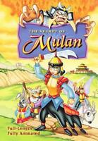THE SECRET OF MULAN USED - VERY GOOD DVD