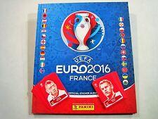 Panini ALBUM EURO 2016 Hardcover + alle 24 Coca Cola Sticker EM 16 Leeralbum