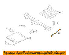 FORD OEM 05-07 Freestyle Rear Seat-Latch Right 5F9Z7461142AB