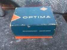 Vintage AGFA OPTIMA camera With Box