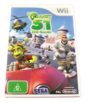 Planet 51 The Game Nintendo Wii PAL *Complete* Wii U Compatible