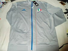 ADIDAS PERFORMANCE F.I.R ITALIA ITALY RUGBY Sz M RETRO JACKET GIACCA TRACKSUIT