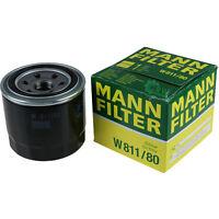 Original MANN-FILTER Ölfilter Oelfilter W 811/80 Oil Filter