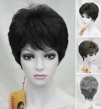 Charming Short Straight Women Ladies Everyday Natural Daily Life hair Wig #EF44