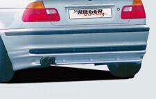 Rieger Tuning HECKSCHÜRZE + BMW 3er E46 Limousine + Heckansatz