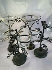 Wrought Iron Candle Holder set of 4