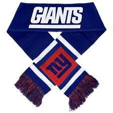"NY New York Giants Knit Winter Neck Scarf NEW 65"" 2012 Team Stripe!"