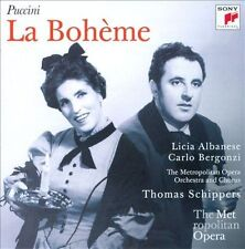 Puccini: La Boheme / Schippers, Feb. 1958 ~ New 2-CD Set (2011, Sony Classics)
