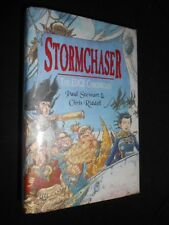 SIGNED: Paul Stewart & Chris Riddell - Stormchaser - 1999-1st, Edge Chronicles 2
