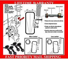 Fits Subaru Camber Kit Impreza WRX 4 Bolts FRONT & REAR SET