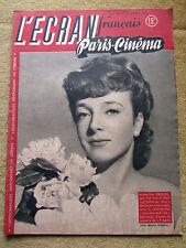 l'écran français paris cinema, n°94, 15 avril 1947