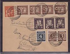 Deutsche Lokalausgaben, Lübbenau, Brief mit Besonderheiten, siehe Scans (20576)