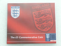 2004 Royal Mint Football World Cup England BU £5 Five Pound Coin Pack