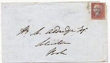 * 1851 Blu Poole Viaggiatore Scheletro Gen 15 & parte blu numerale Blandford Dorset