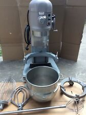 Single Phase Hobart H600T Mixer With Dough Hook Paddle Whisk Bowl and New Timer