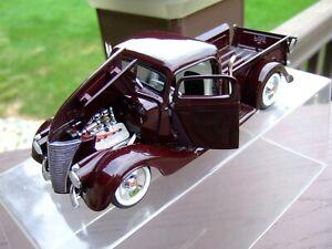 Danbury Mint 1/24th Scale 1936 Ford Rad Rod Pickup---VERY NICE---