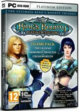 King's Bounty Platinum Edition 3 Game Pack - PC DVD - New & Sealed