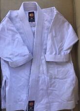 KI International Youth White Karate Gi Uniform Sz 00 Top Only