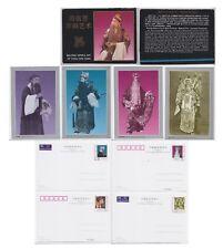 China Beijing Opera Arte 4 tarjetas Estampada Pre