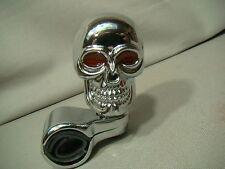 chrome skull steering knob skeleton spinner skull brody skeleton suicide knob