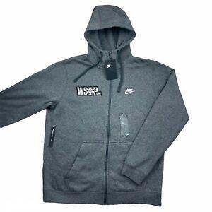 NEW Men's Nike World Series of Poker WSOP Zip Up Hoodie Sweatshirt size L
