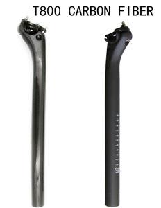 3k carbon fiber Cycling bicycle road bike MTB setback seatpost 27.2 30.8 31.6 mm